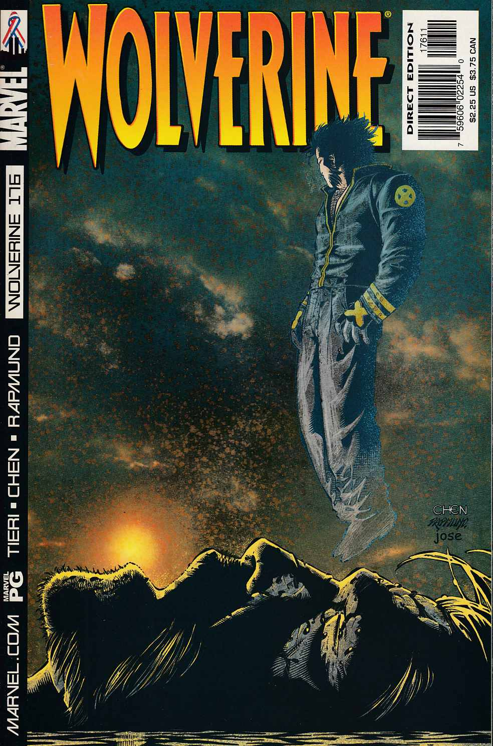Wolverine #176 Near Mint (9.4) [Marvel Comic] LARGE