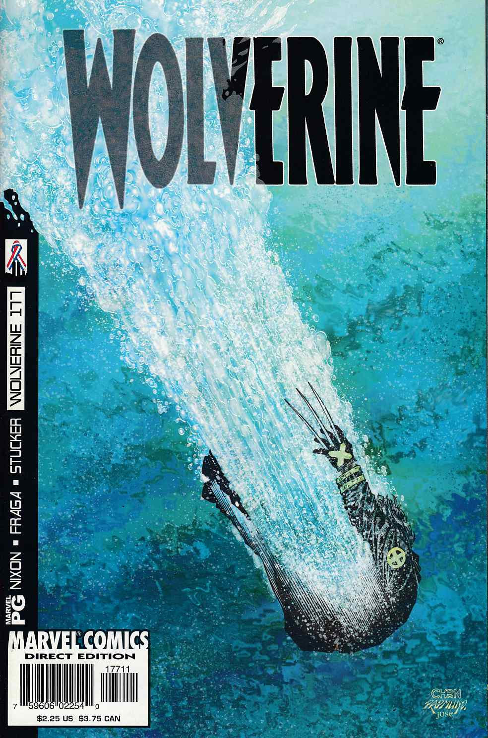 Wolverine #177 Near Mint (9.4) [Marvel Comic] LARGE