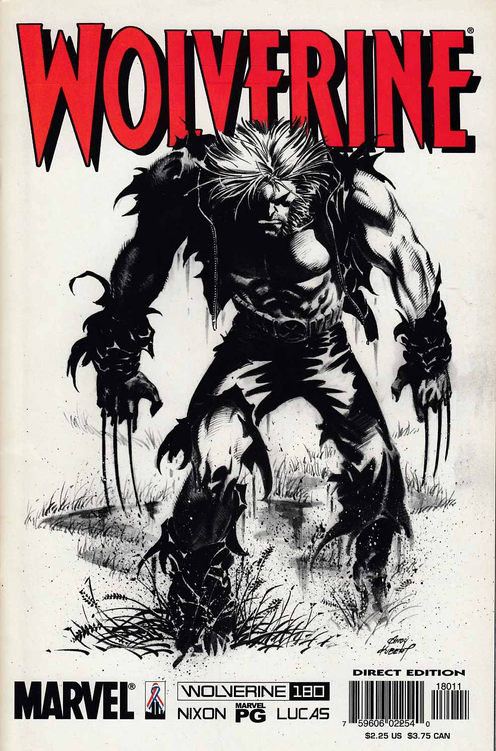 Wolverine #180 Near Mint (9.4) [Marvel Comic] LARGE