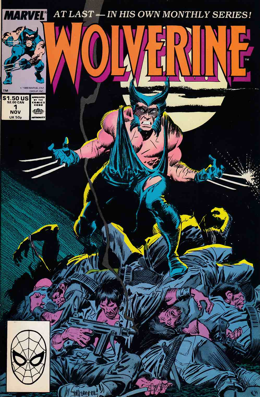 Wolverine #1 Very Fine Minus (7.5) [Marvel Comic] THUMBNAIL