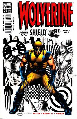 Wolverine #27 Near Mint (9.4) [Marvel Comic] LARGE