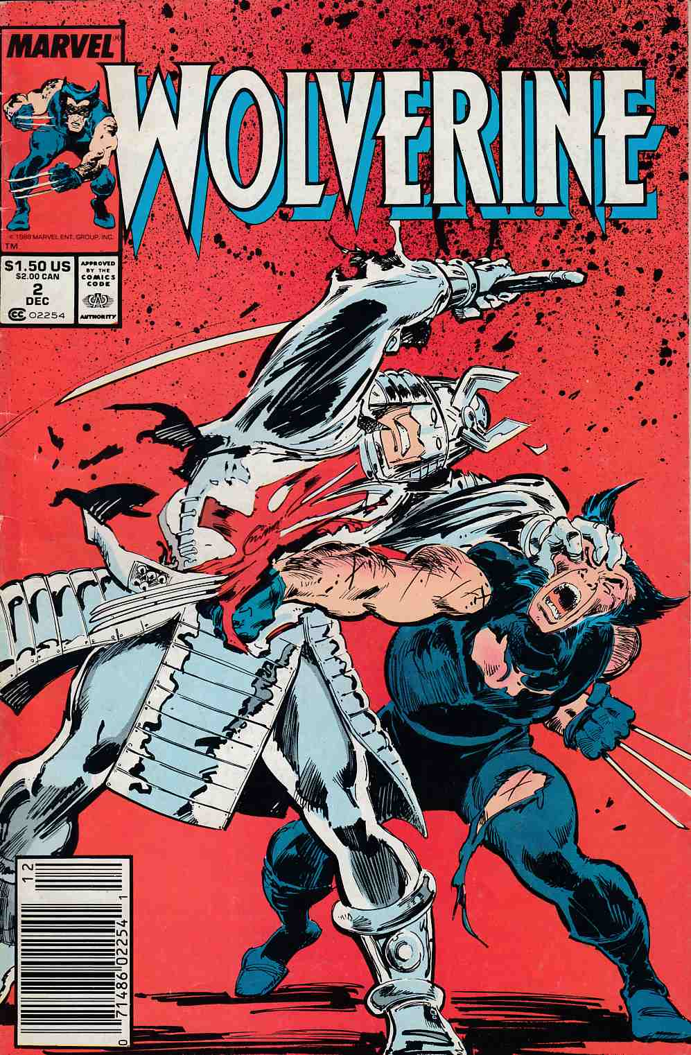Wolverine #2 Newsstand Edition Very Good (4.0) [Marvel Comic] THUMBNAIL