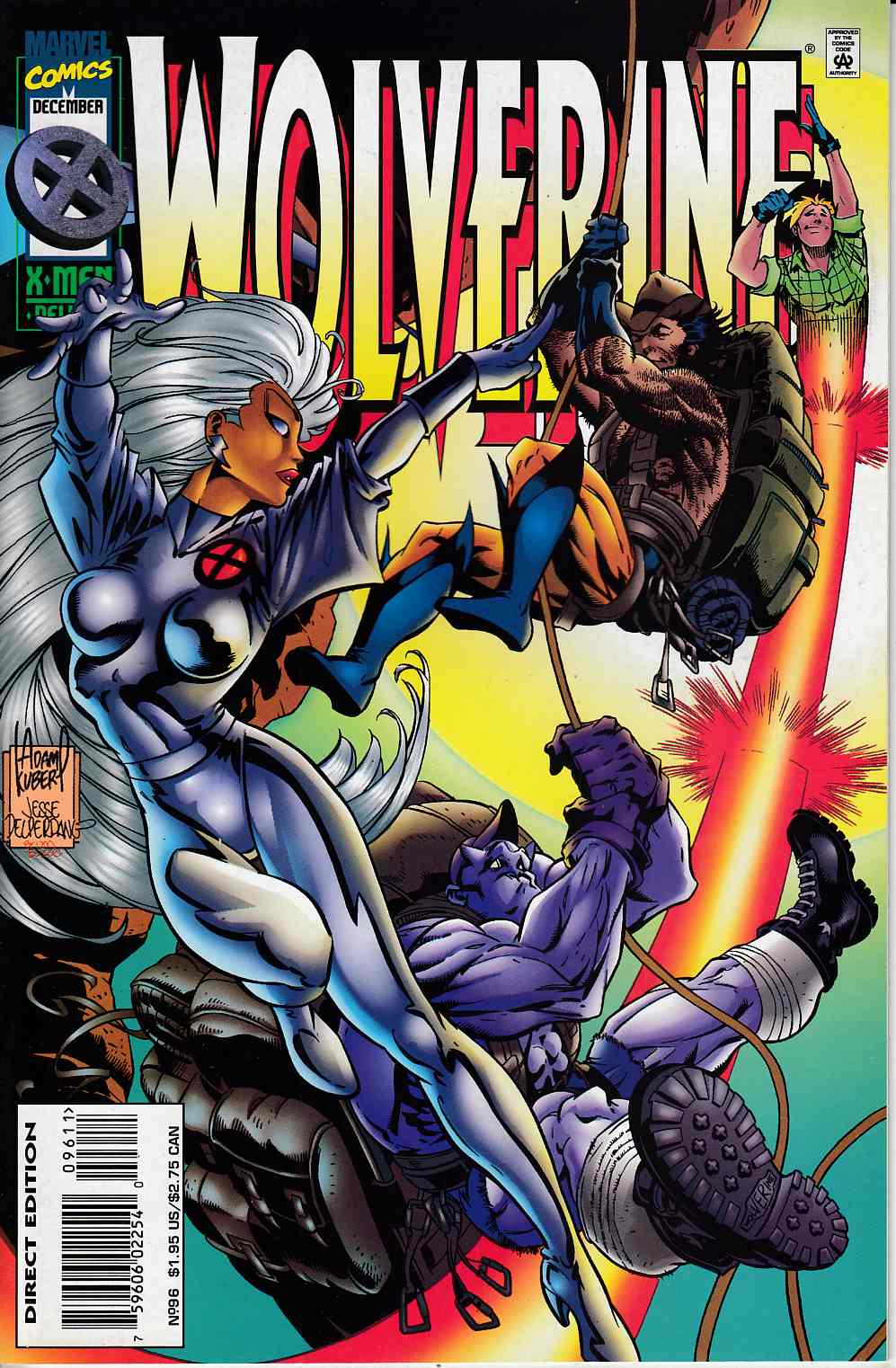 Wolverine #96 Very Fine (8.0) [Marvel Comic] LARGE