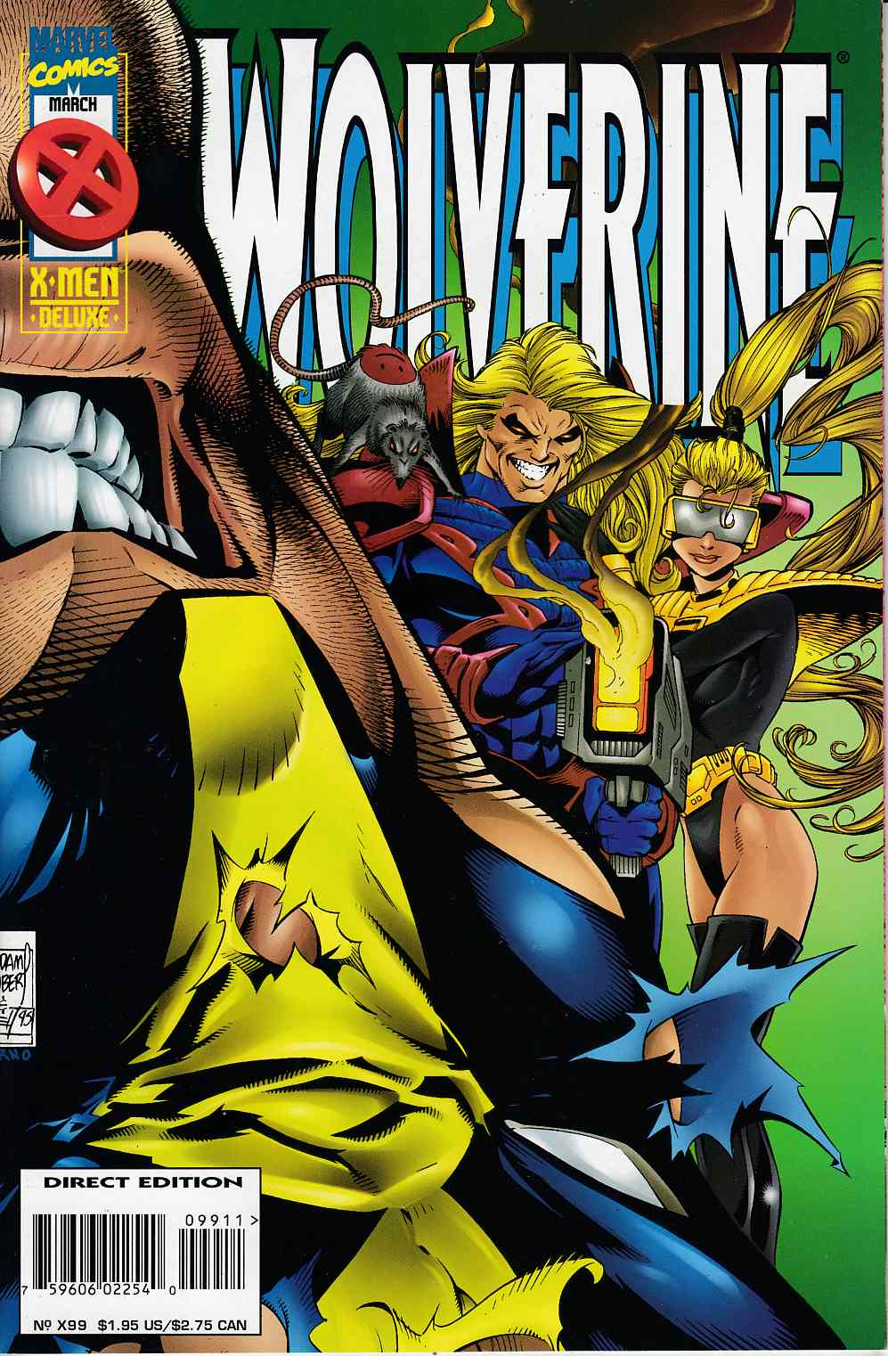 Wolverine #99 Near Mint (9.4) [Marvel Comic] LARGE