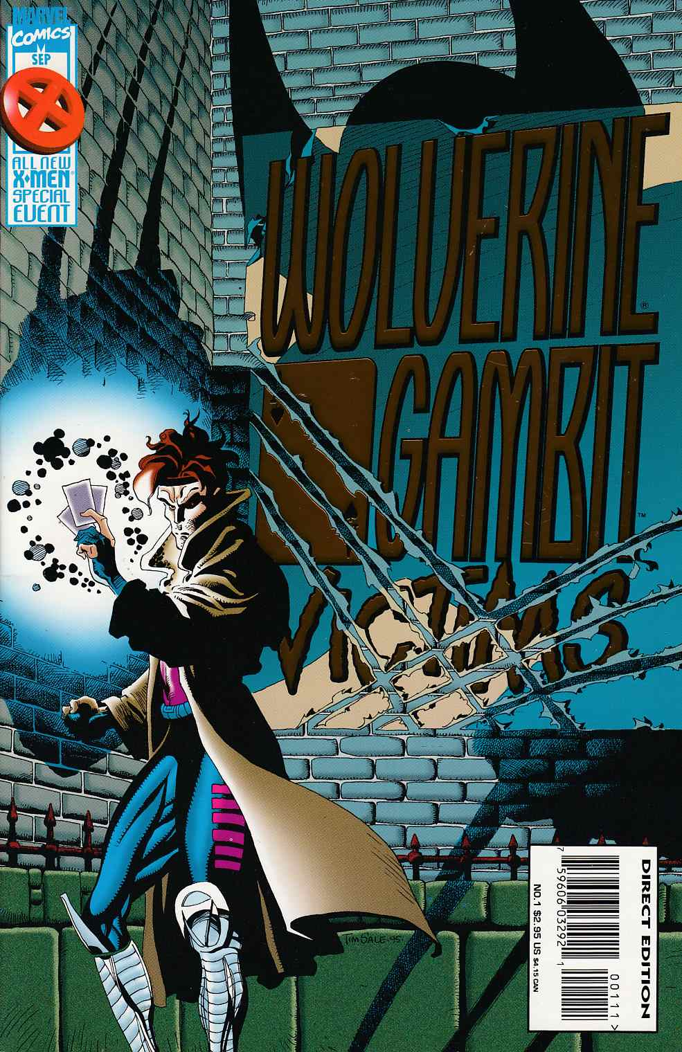 Wolverine Gambit Victims #1 Very Fine (8.0) [Marvel Comic] THUMBNAIL