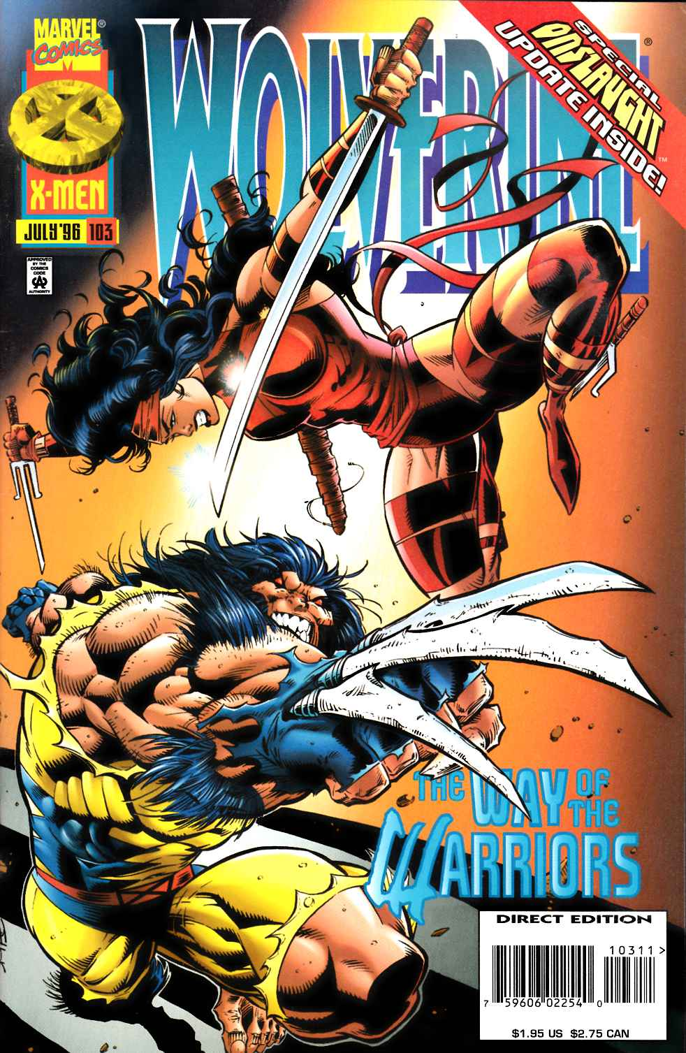 Wolverine #103 Fine (6.0) [Marvel Comic] LARGE