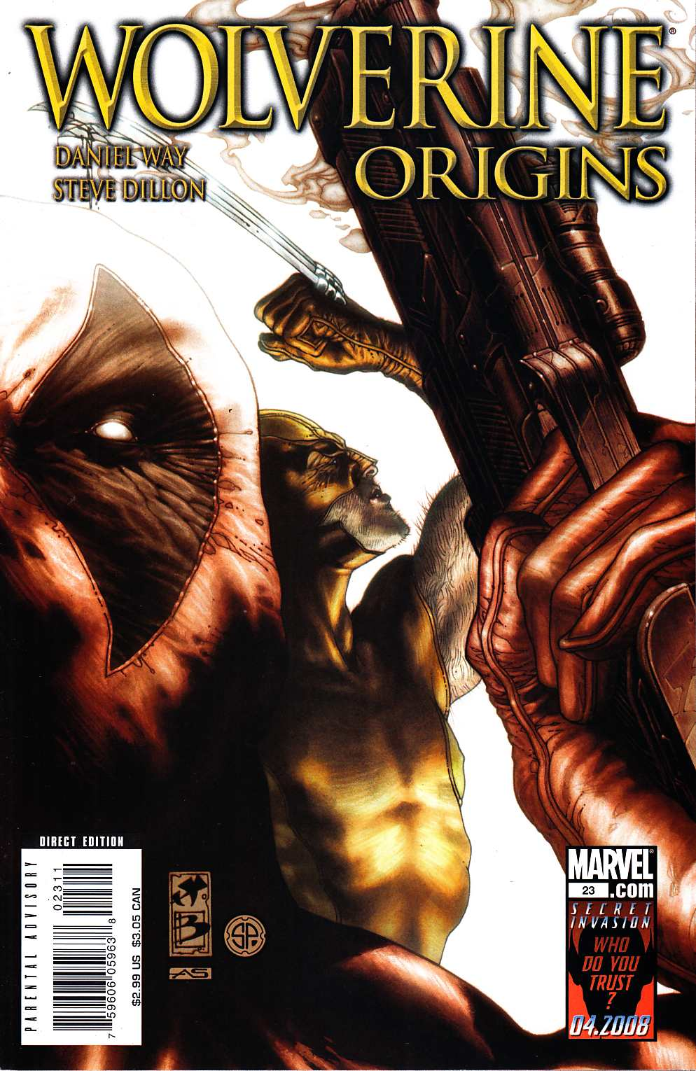 Wolverine Origins #23 [Marvel Comic] THUMBNAIL