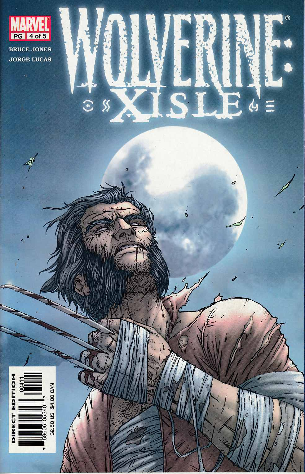 Wolverine Xisle #4 Very Fine (8.0) [Marvel Comic] LARGE