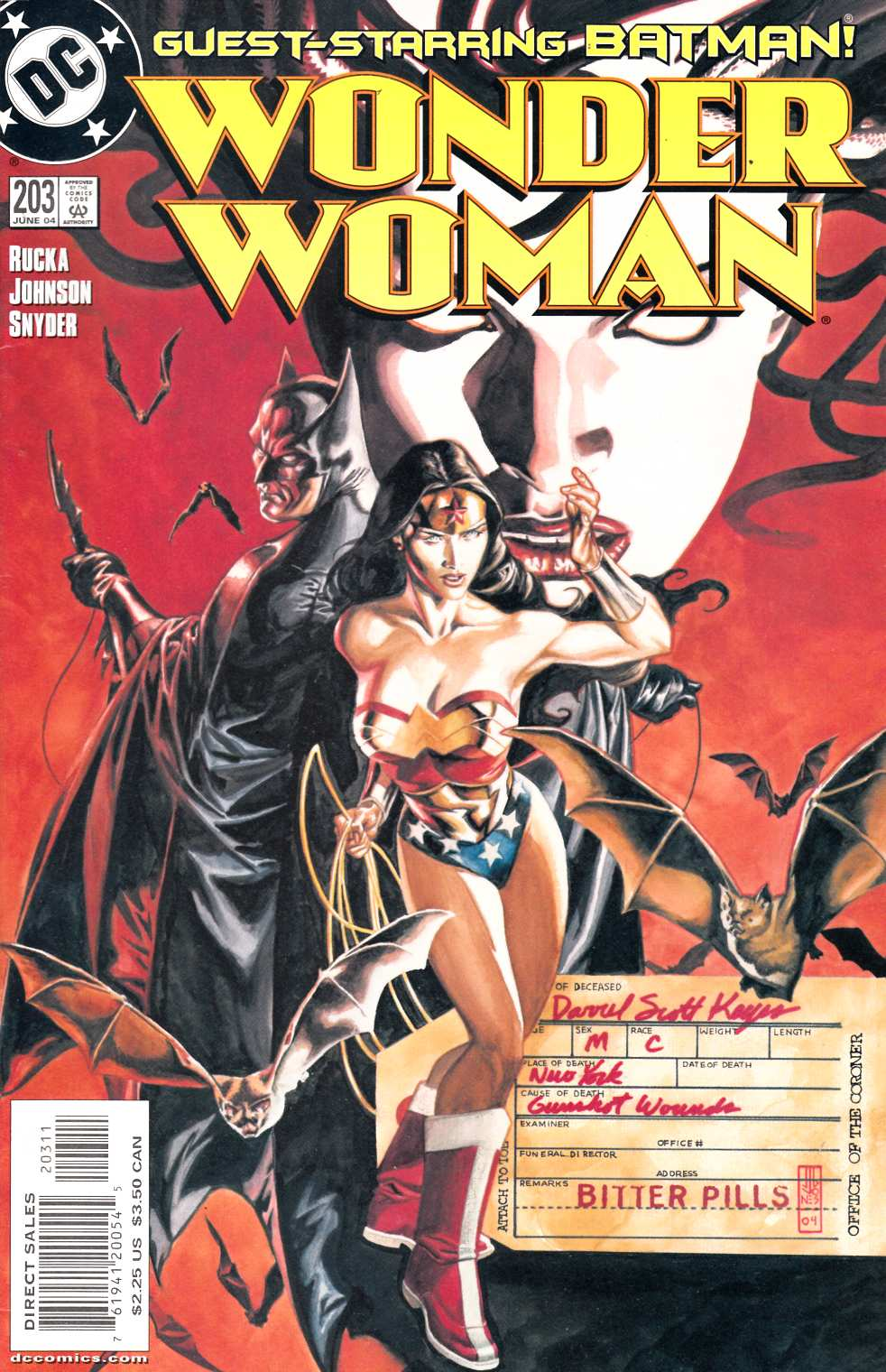 Wonder Woman #203 Near Mint Minus (9.2) [DC Comic] LARGE