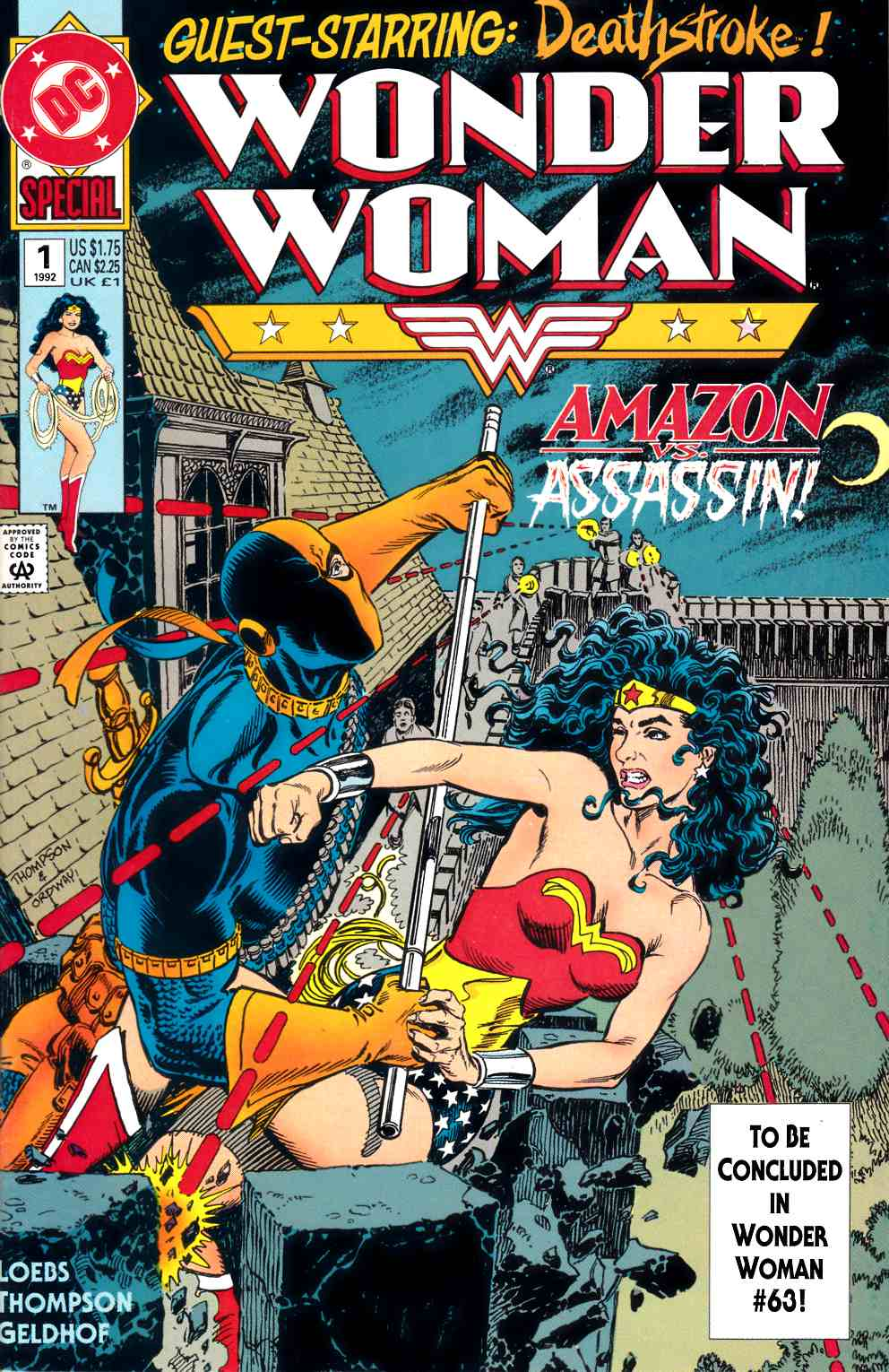 Wonder Woman Special #1 Near Mint Minus (9.2) [DC Comic] THUMBNAIL
