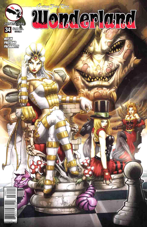 Wonderland #34 Cover B- El Tabanas [Zenescope Comic]