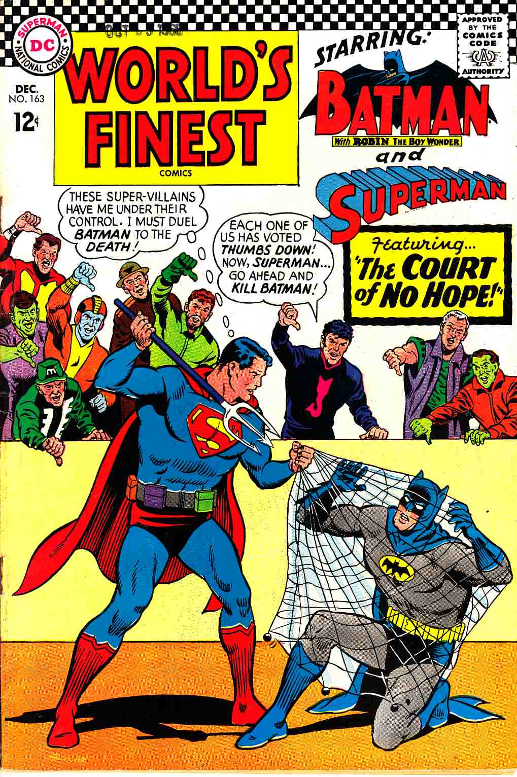 Worlds Finest #163 Good (2.0) [DC Comic] THUMBNAIL
