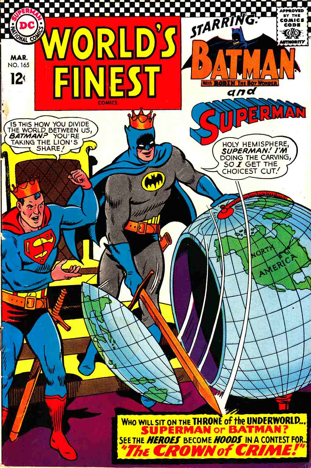 Worlds Finest #165 Very Good (4.0) [DC Comic] THUMBNAIL