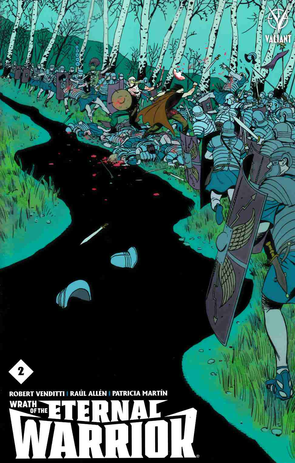 Wrath of the Eternal Warrior #2 Cover C- Martin [Valiant Comic]_THUMBNAIL