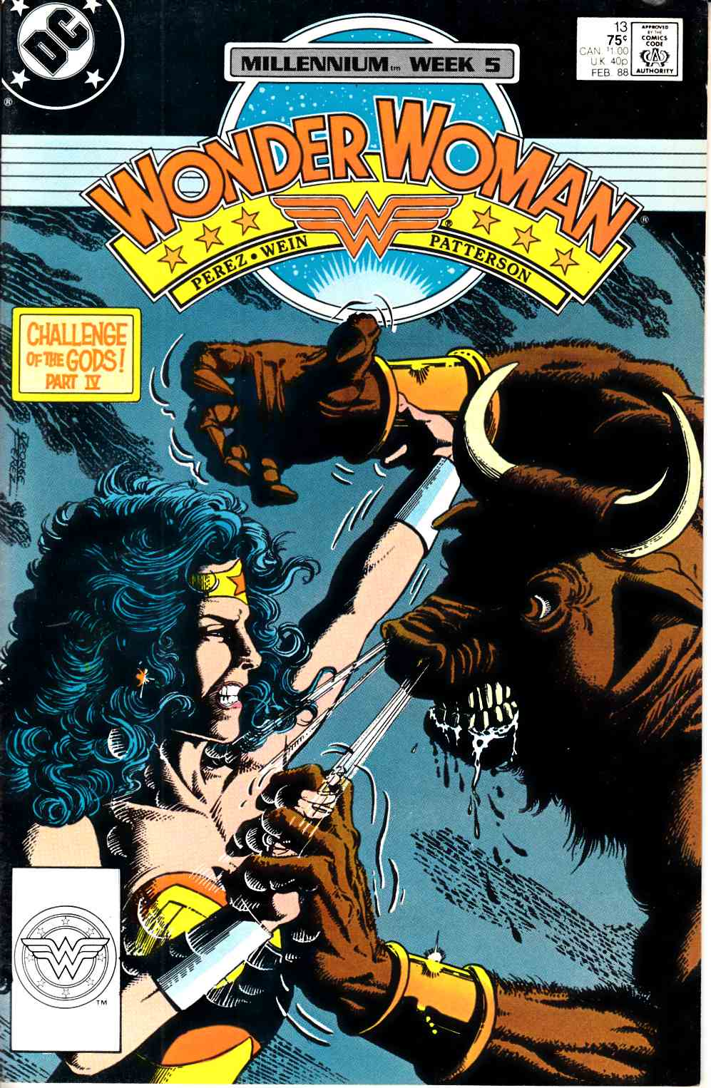Wonder Woman #13 Very Fine Minus (7.5) [DC Comic] THUMBNAIL