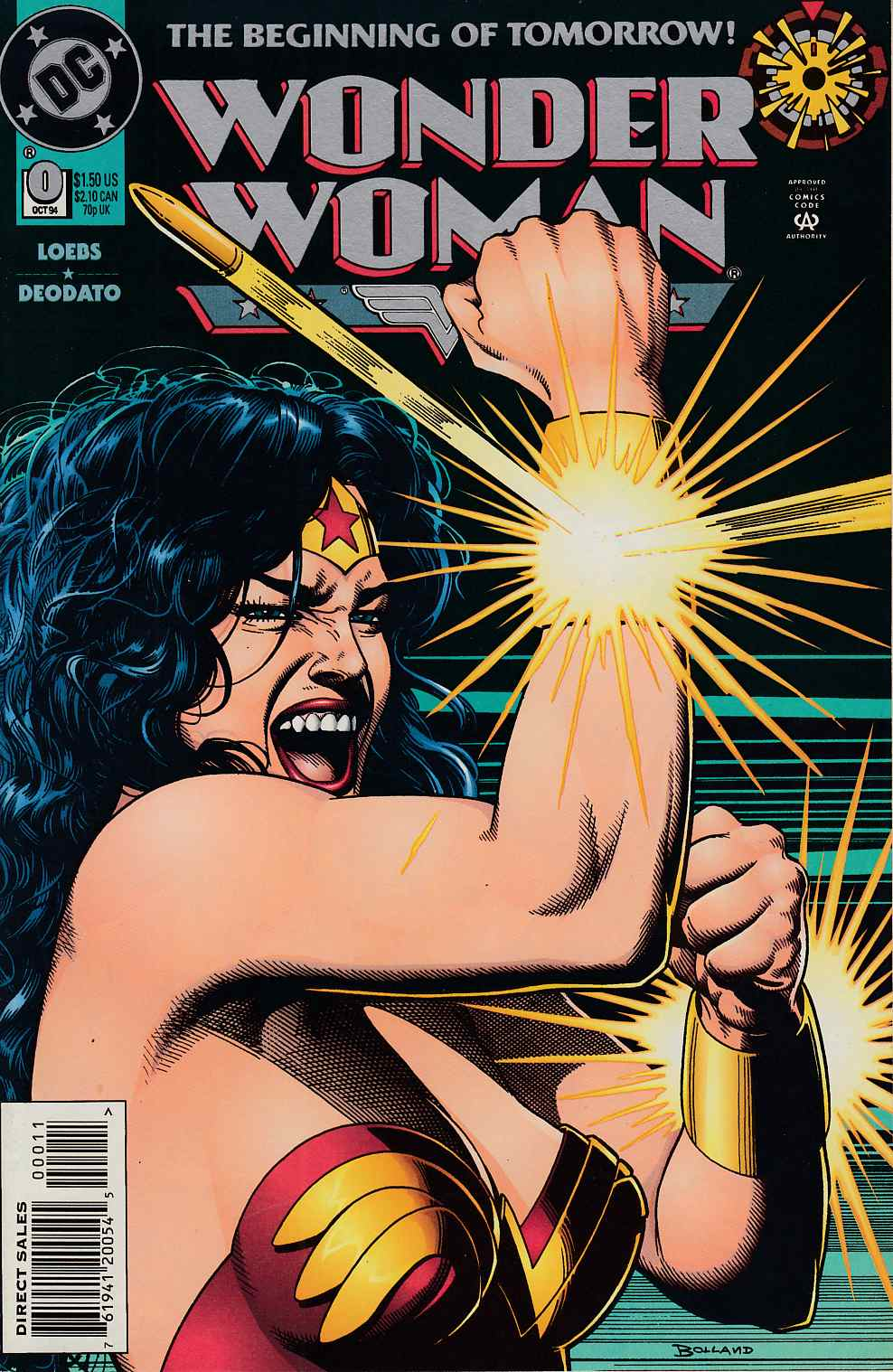 Wonder Woman #0 Near Mint (9.4) [DC Comic] THUMBNAIL