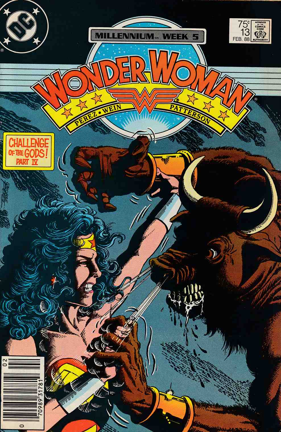 Wonder Woman #13 Very Fine (8.0) [DC Comic] THUMBNAIL