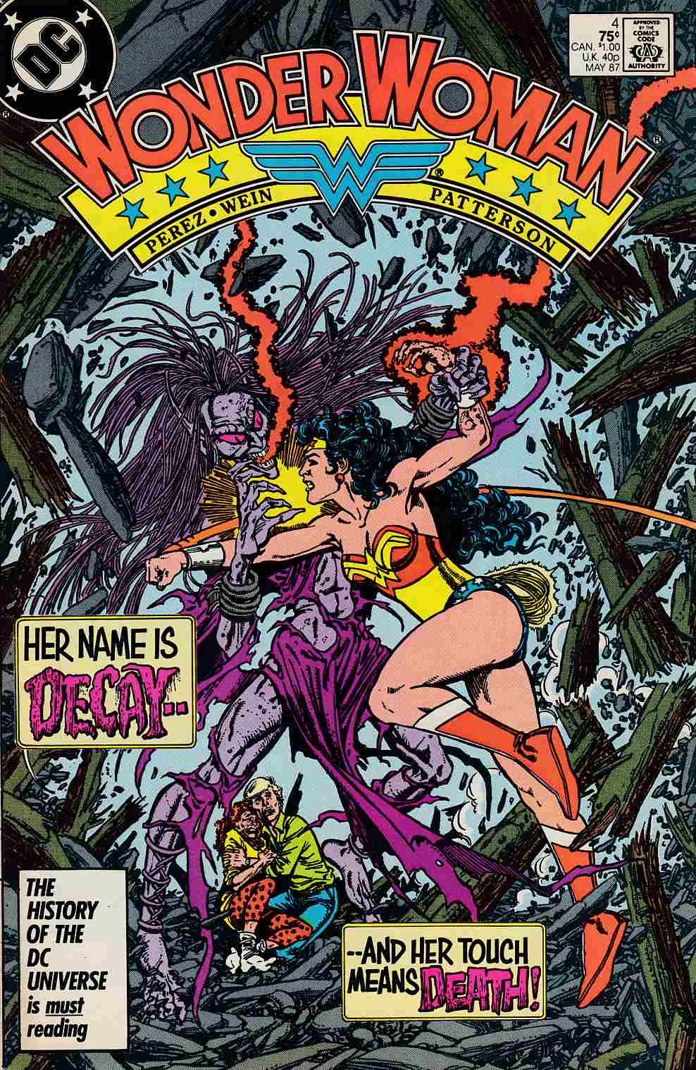 Wonder Woman #4 Near MInt Minus (9.2) [DC Comic] THUMBNAIL