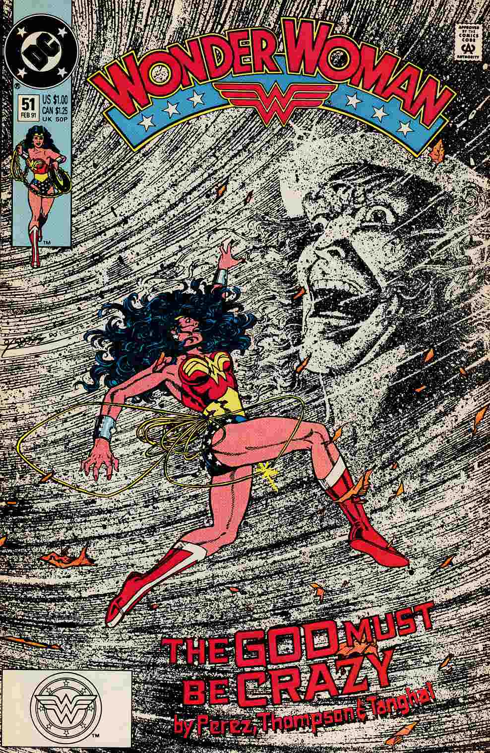 Wonder Woman #51 Near Mint (9.4) [DC Comic] THUMBNAIL