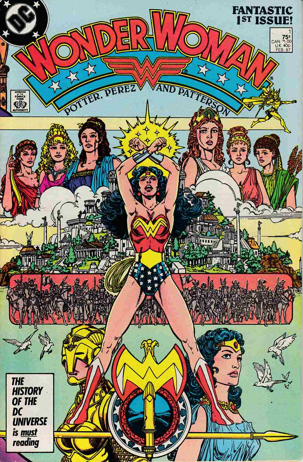 Wonder Woman #1 Very Fine Minus (7.5) [DC Comic] THUMBNAIL