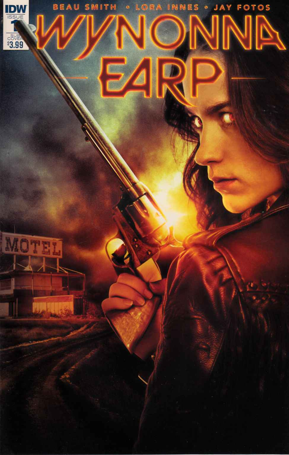 Wynonna Earp #1 Subscription Cover [IDW Comic] THUMBNAIL