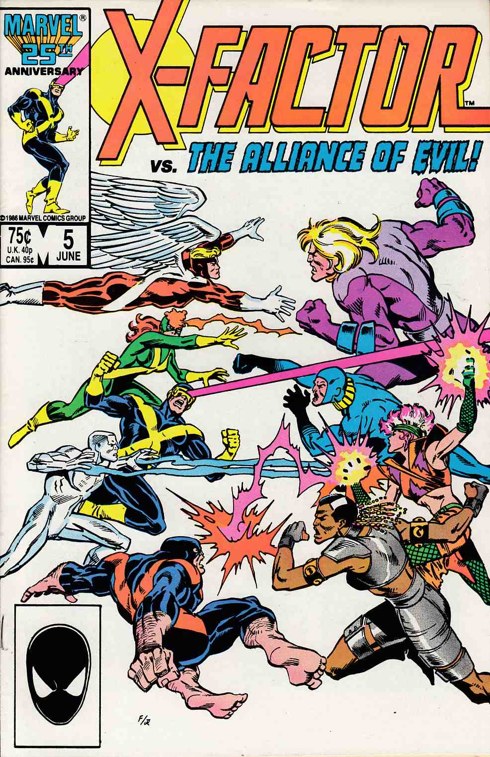 X-Factor #5 Near Mint (9.4) [Marvel Comic] THUMBNAIL