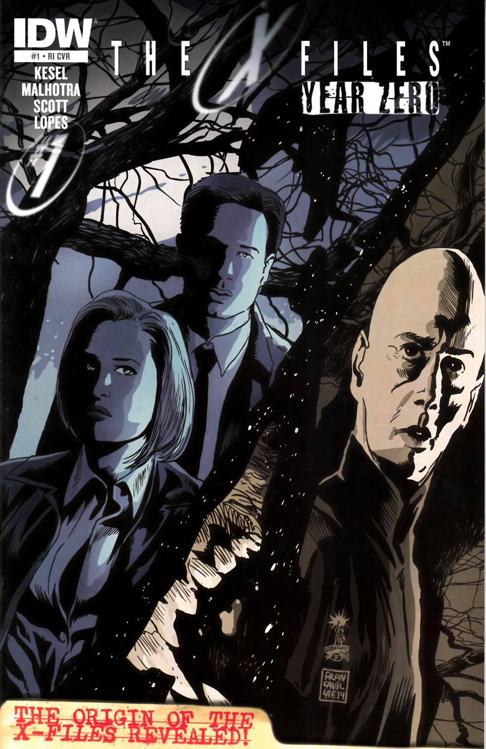 X-Files Year Zero #1 Cover RI [Comic] THUMBNAIL