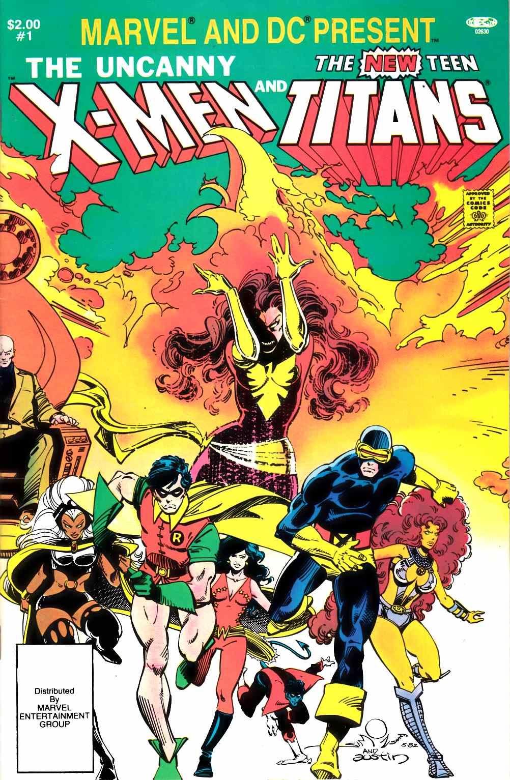 Marvel and DC Present the X-Men and the Teen Titans (One Shot) Very Fine (8.0) [Marvel Comic] THUMBNAIL
