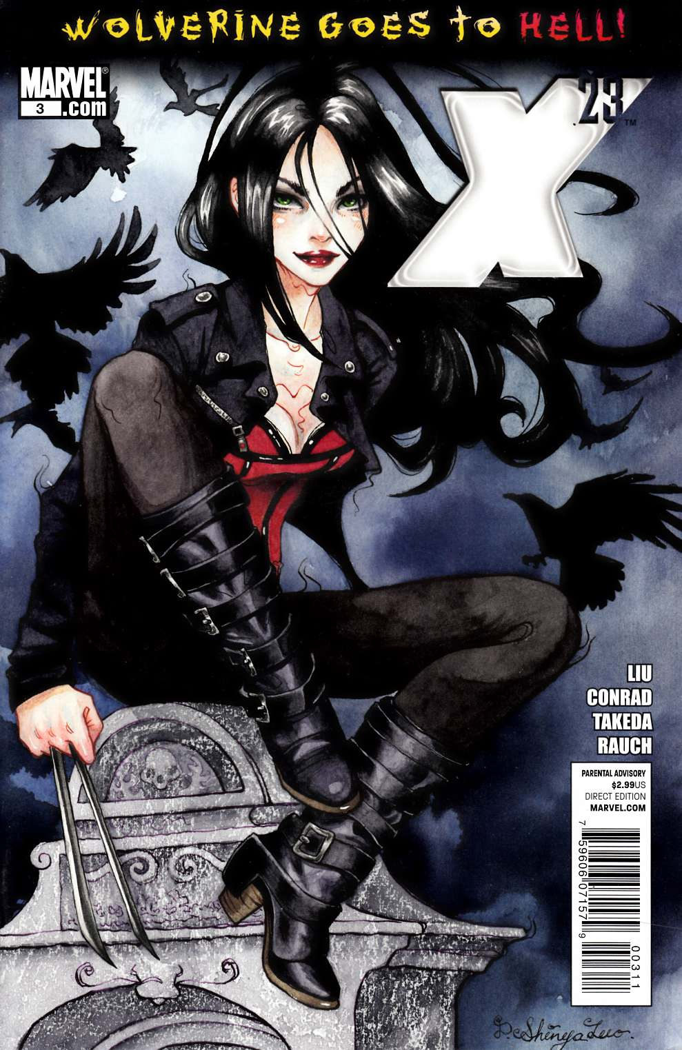 X-23 #3 Near Mint Minus (9.2) [Marvel Comic] THUMBNAIL