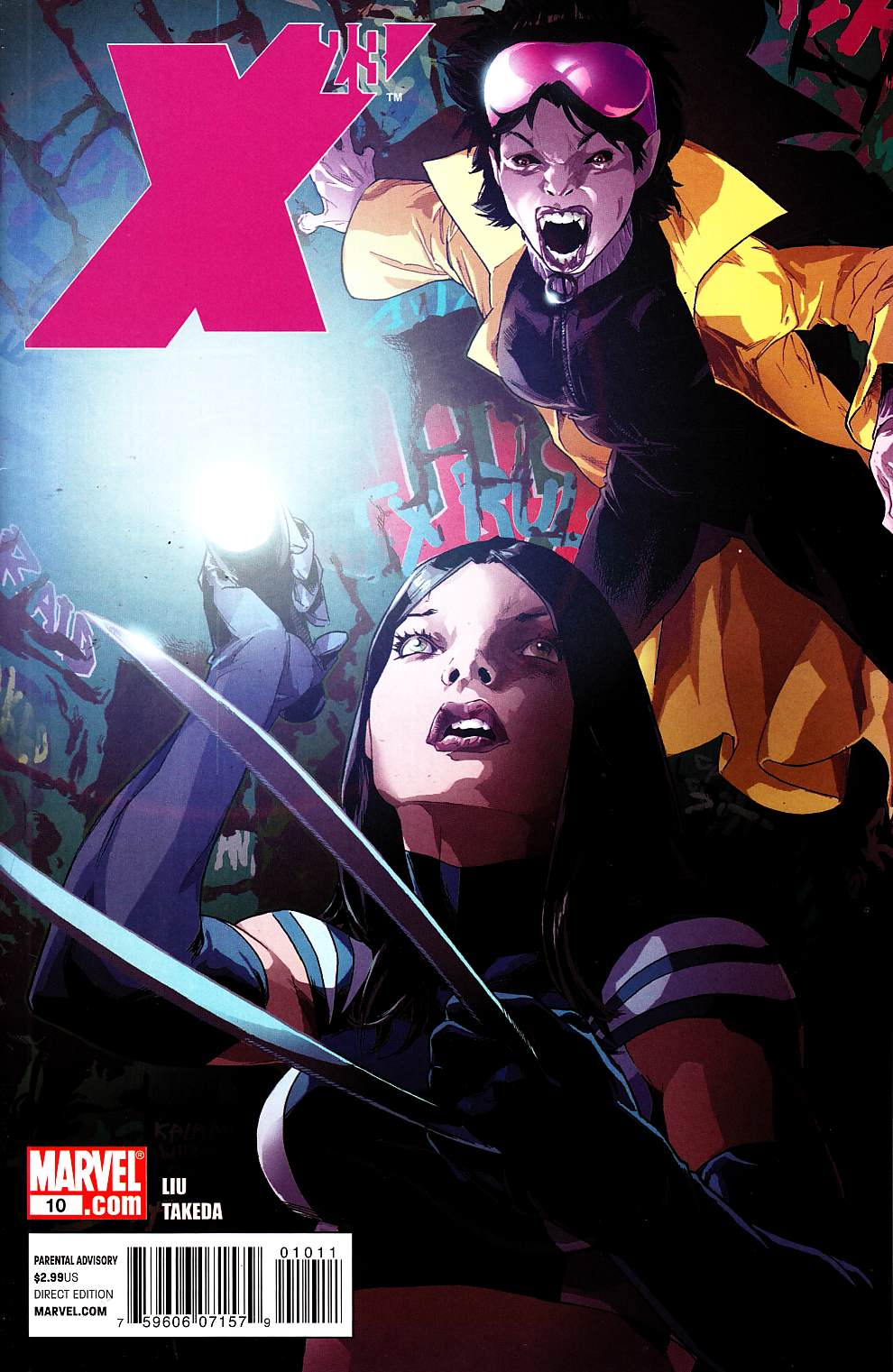 X-23 #10 [Marvel Comic] THUMBNAIL