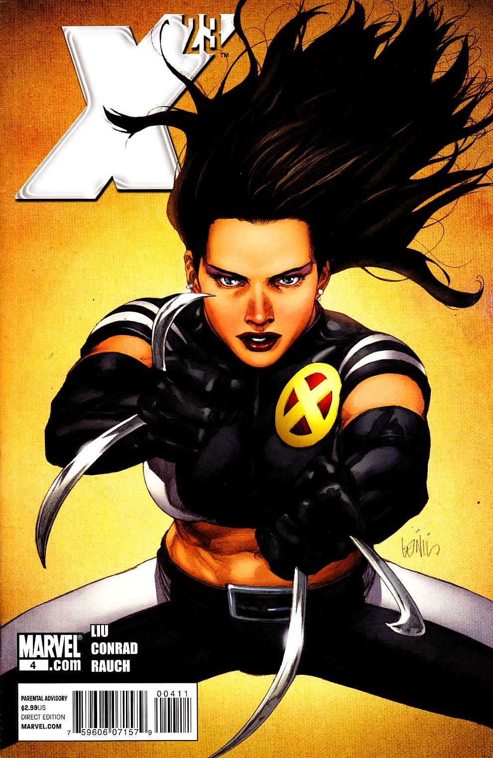 X-23 #4 Near Mint Minus (9.2) [Marvel Comic] THUMBNAIL