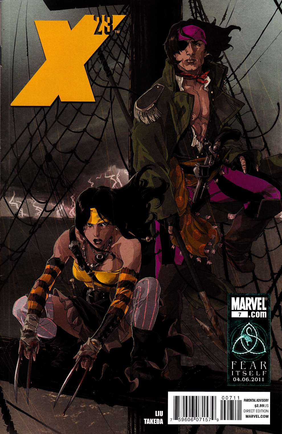 X-23 #7 [Marvel Comic] THUMBNAIL