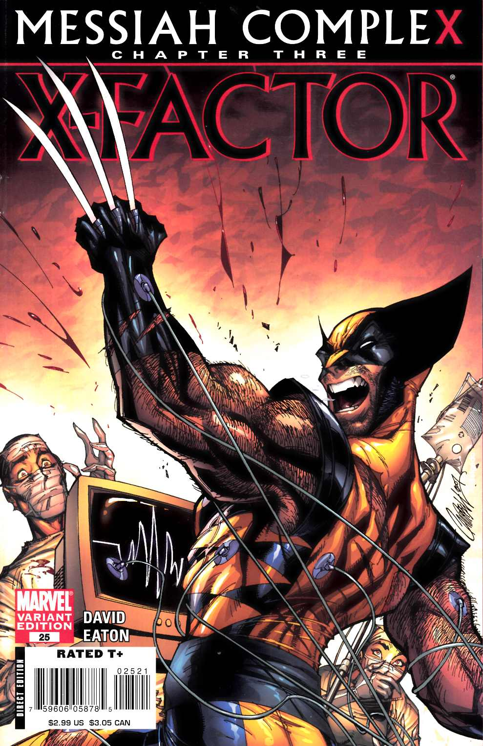 X-Factor #25 Campbell Variant Cover [Marvel Comic] THUMBNAIL