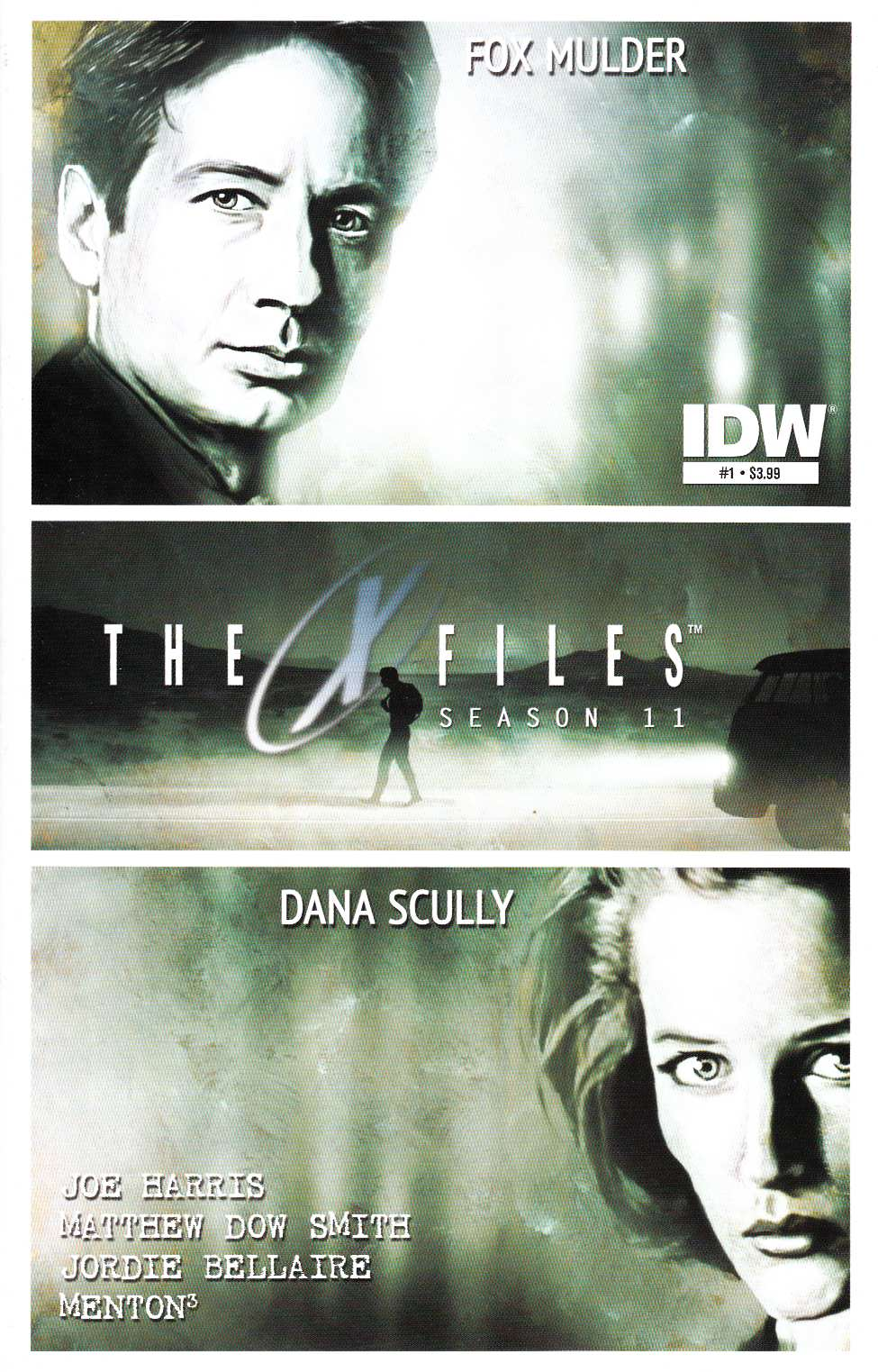 X-Files Season 11 #1 [IDW Comic] THUMBNAIL