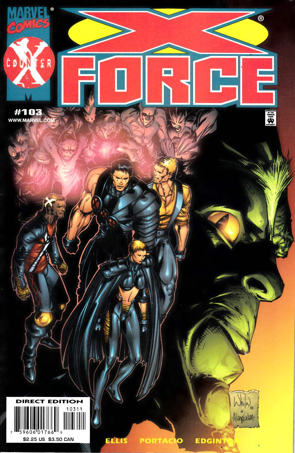 X-Force #103 Very Fine (8.0) [Marvel Comic] LARGE