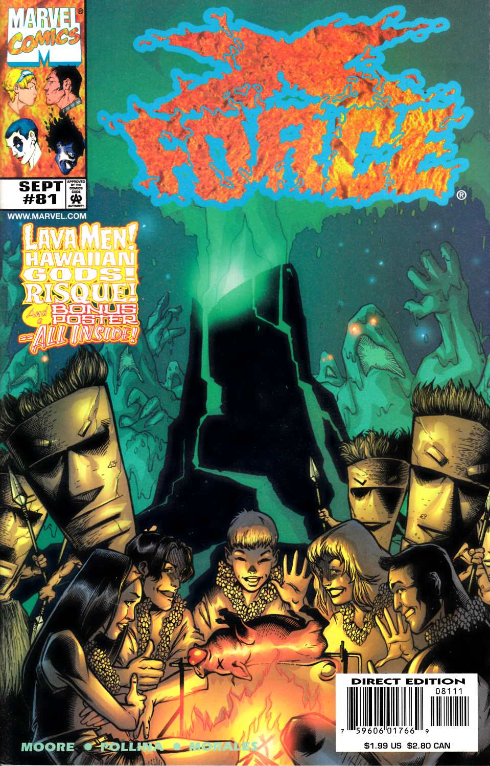X-Force #81 Near Mint (9.4) [Marvel Comic] LARGE