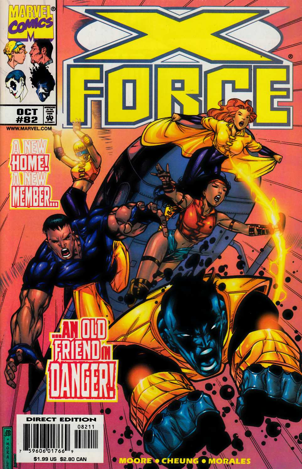 X-Force #82 Very Fine (8.0) [Marvel Comic] LARGE