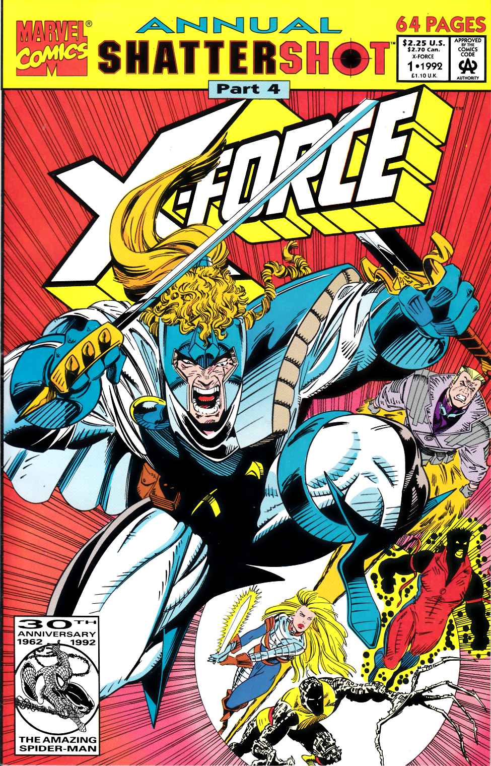 X-Force Annual #1 Very Fine (8.0) [Marvel Comic] LARGE