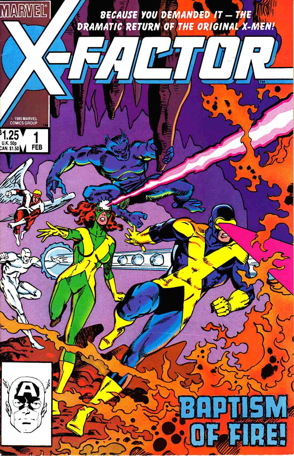 X-Factor #1 Very Fine (8.0) [Marvel Comic] THUMBNAIL