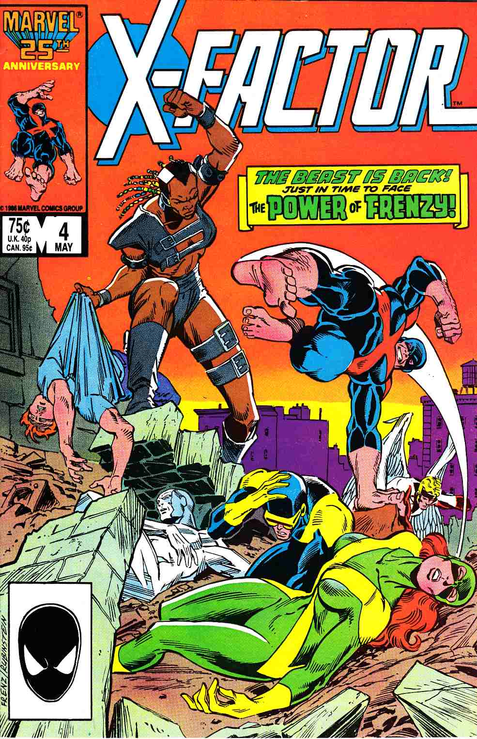 X-Factor #4 Very Fine Plus (8.5) [Marvel Comic] THUMBNAIL