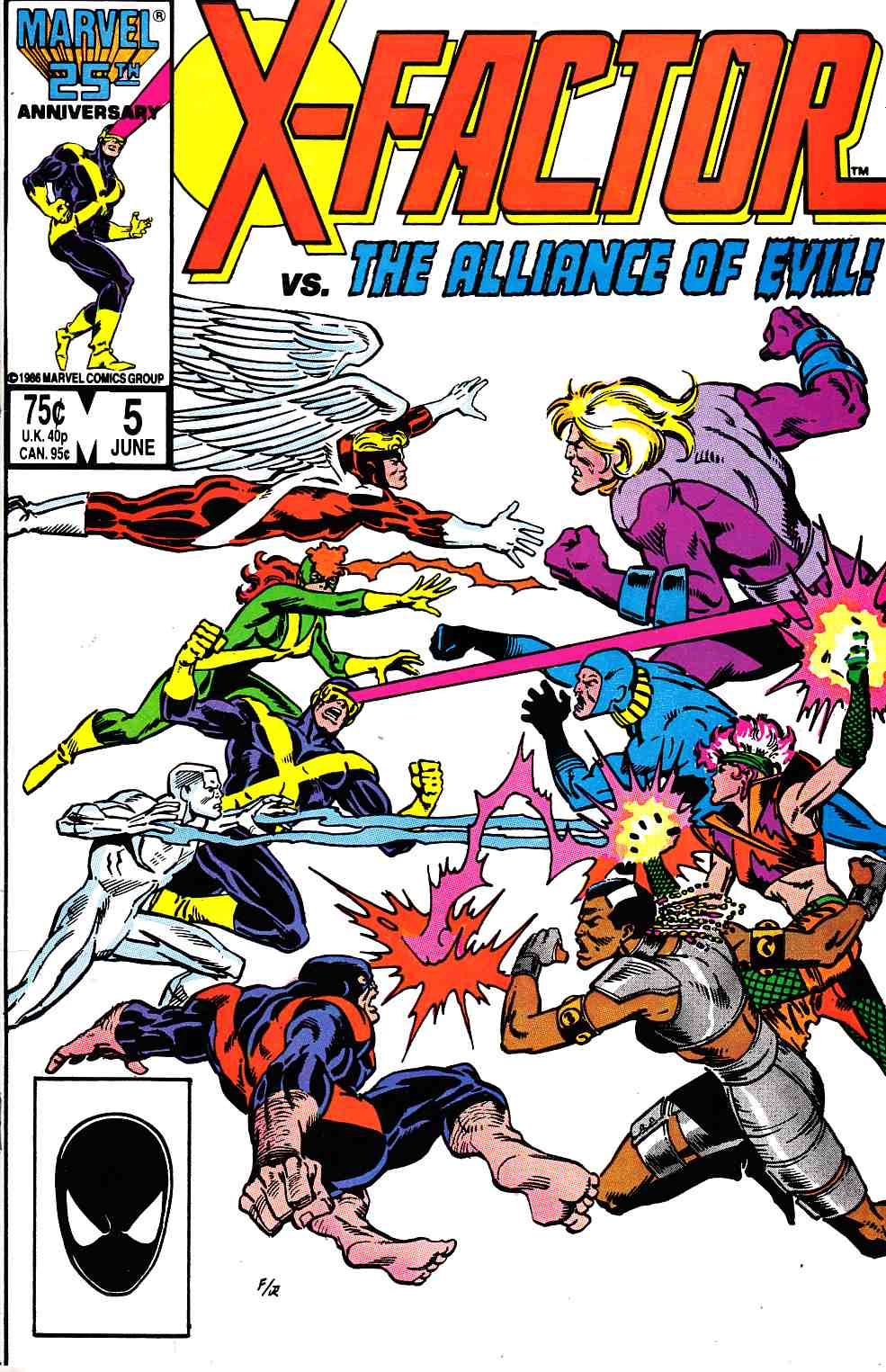 X-Factor #5 Very Fine (8.0) [Marvel Comic] THUMBNAIL