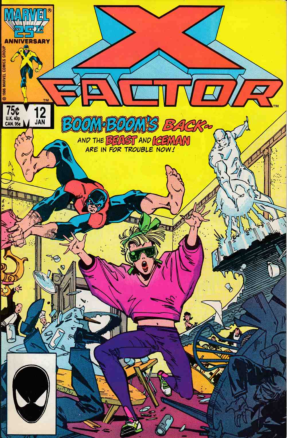 X-Factor #12 Fine Minus (5.5) [Marvel Comic] LARGE