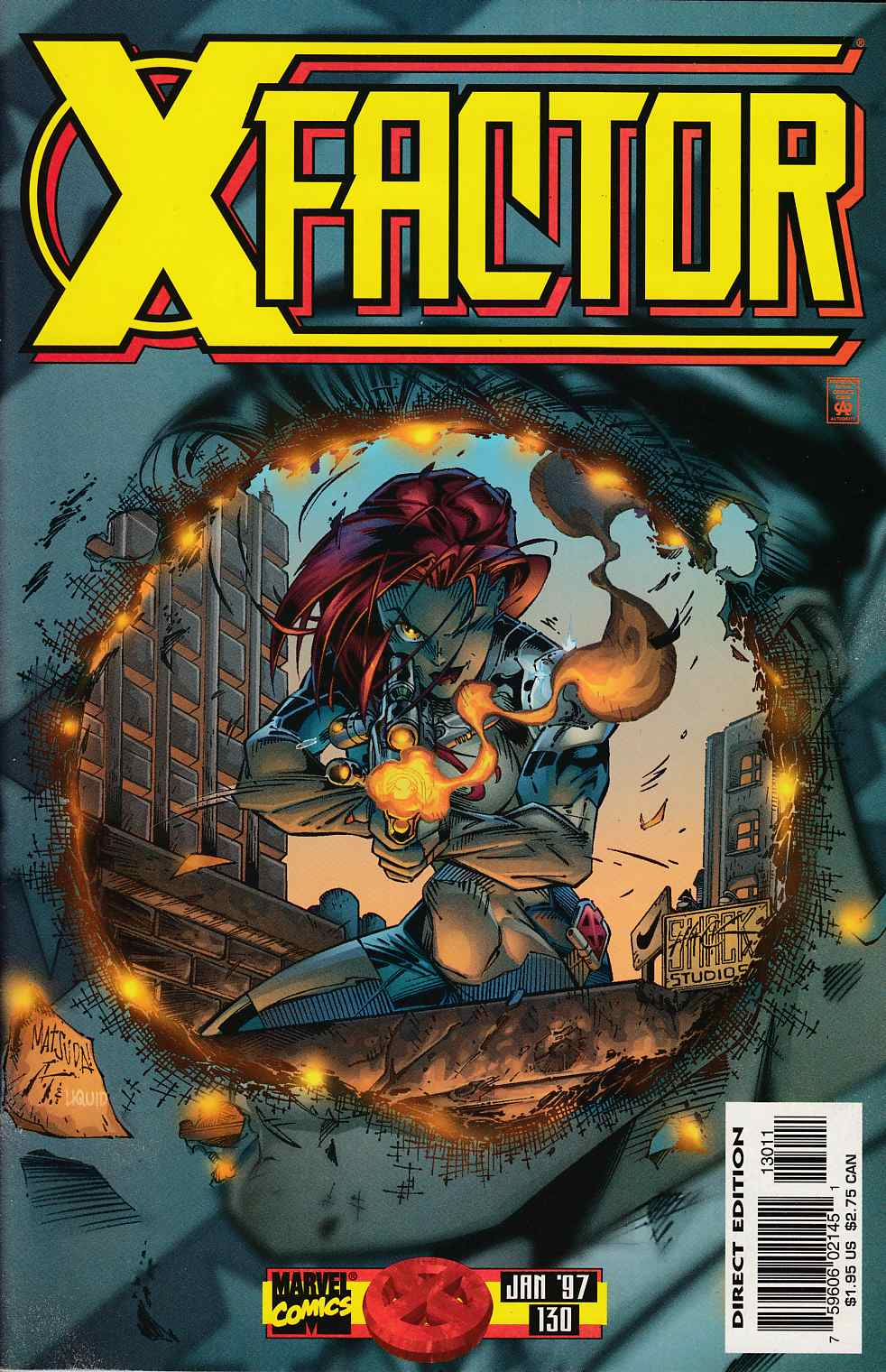 X-Factor #130 Very Fine Plus (8.5) [Marvel Comic] LARGE
