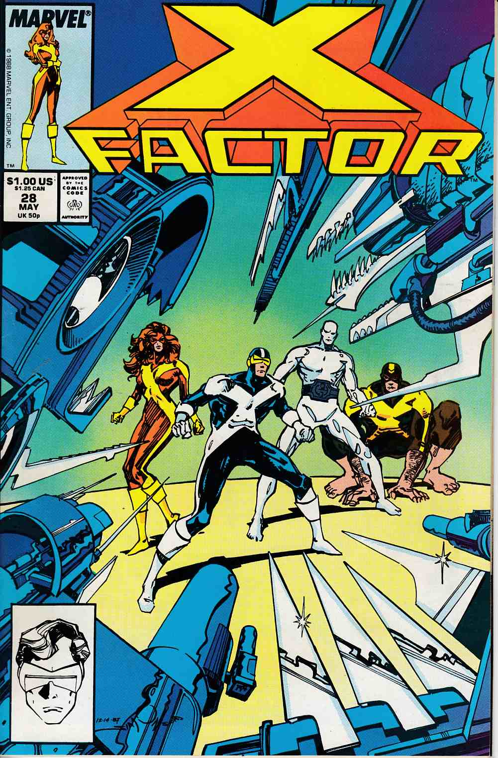 X-Factor #28 Very Fine (8.0) [Marvel Comic] LARGE