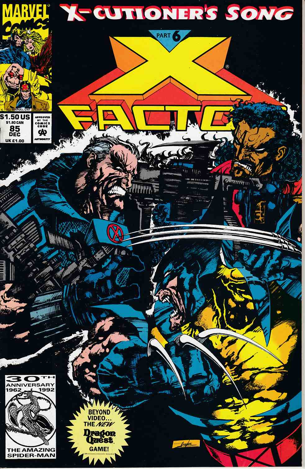 X-Factor #85 Very Fine (8.0) [Marvel Comic] LARGE