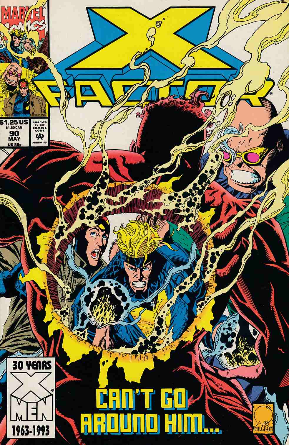 X-Factor #90 Very Fine (8.0) [Marvel Comic] LARGE