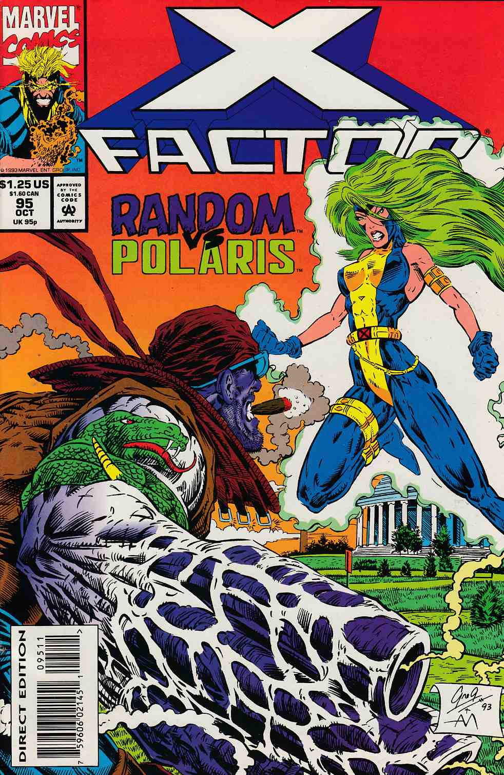 X-Factor #95 Very Fine (8.0) [Marvel Comic] LARGE