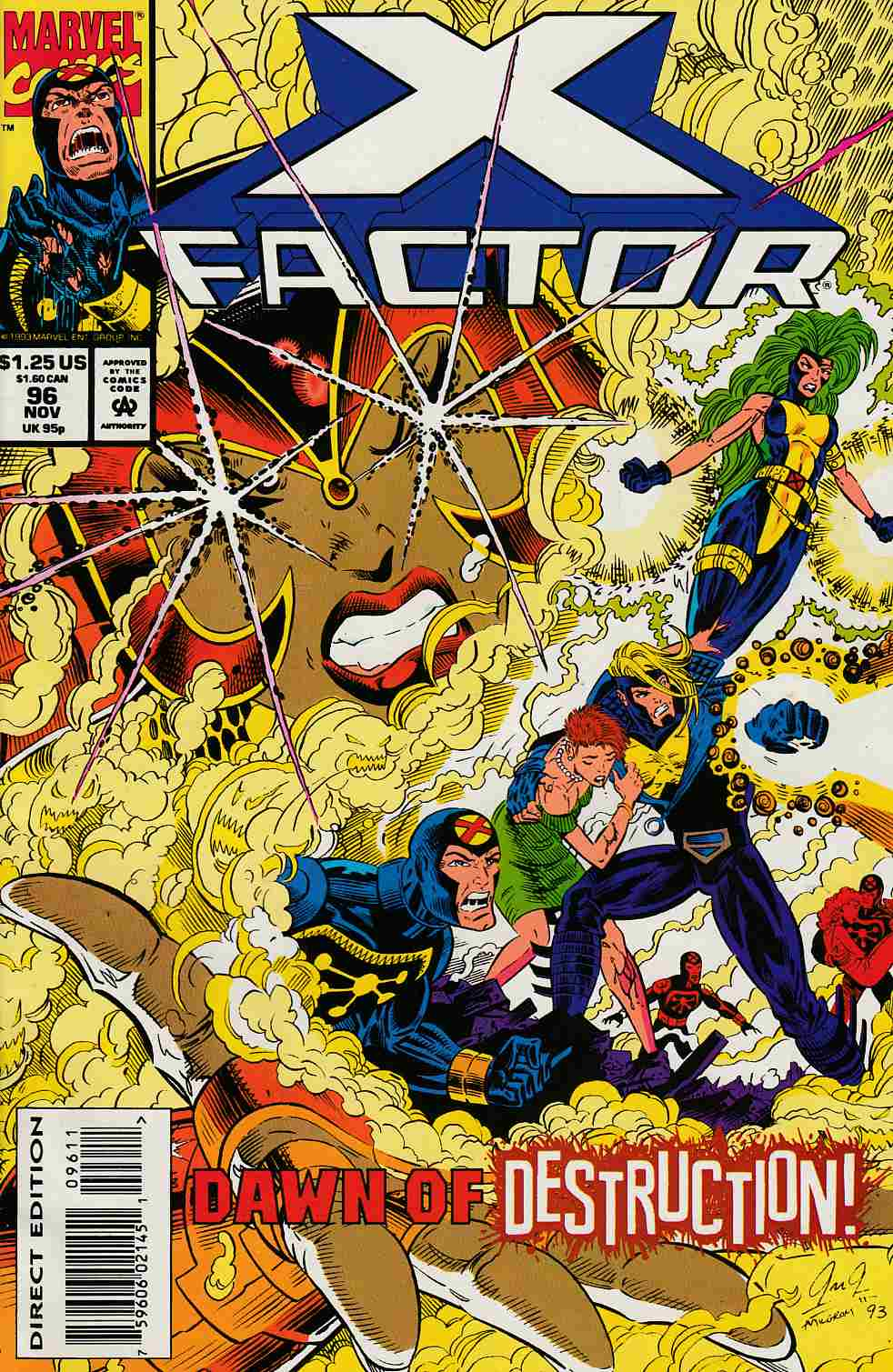 X-Factor #96 Very Fine (8.0) [Marvel Comic] LARGE