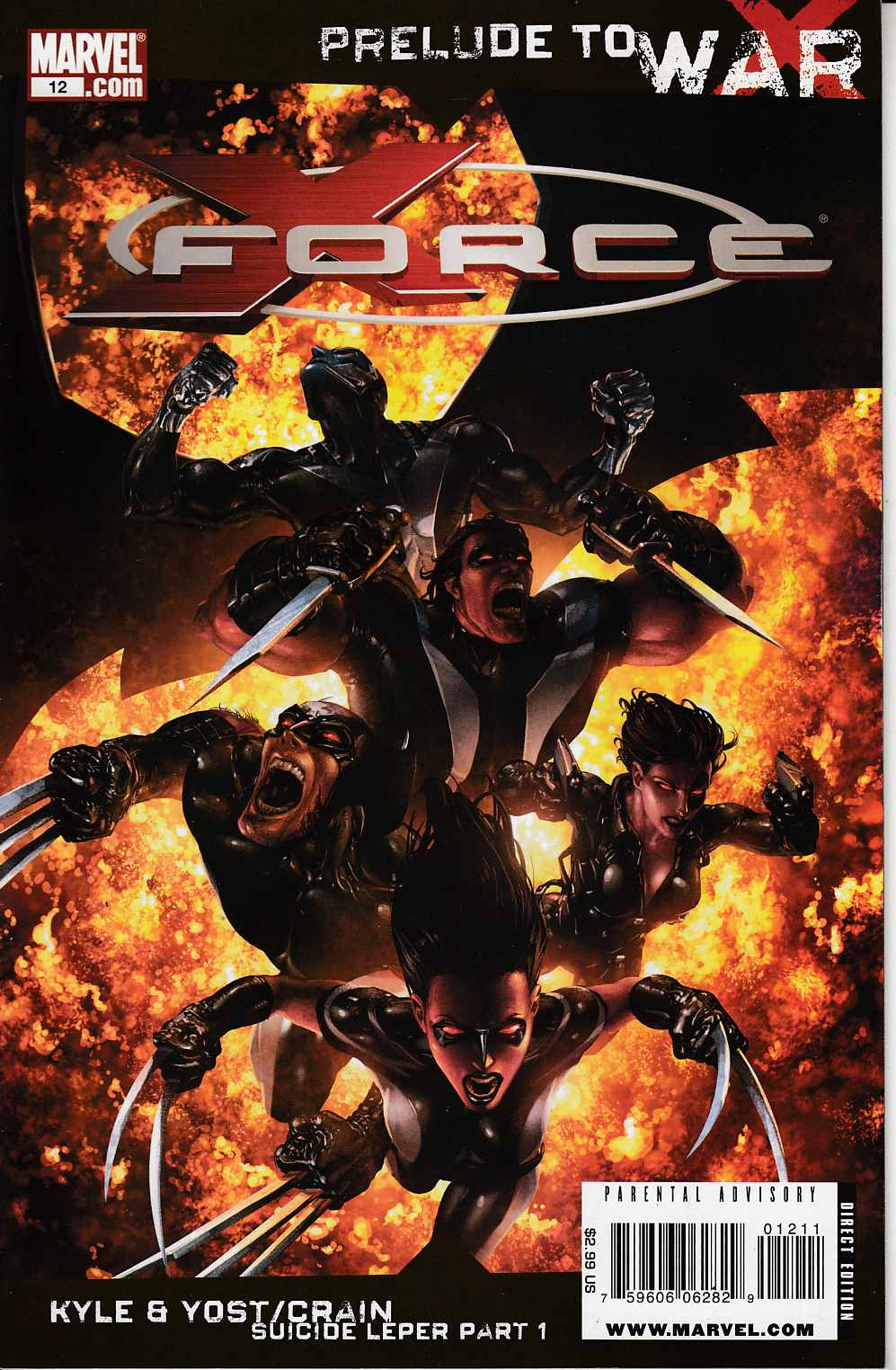 X-Force #12 Very Fine Minus (7.5) [Marvel Comic] THUMBNAIL