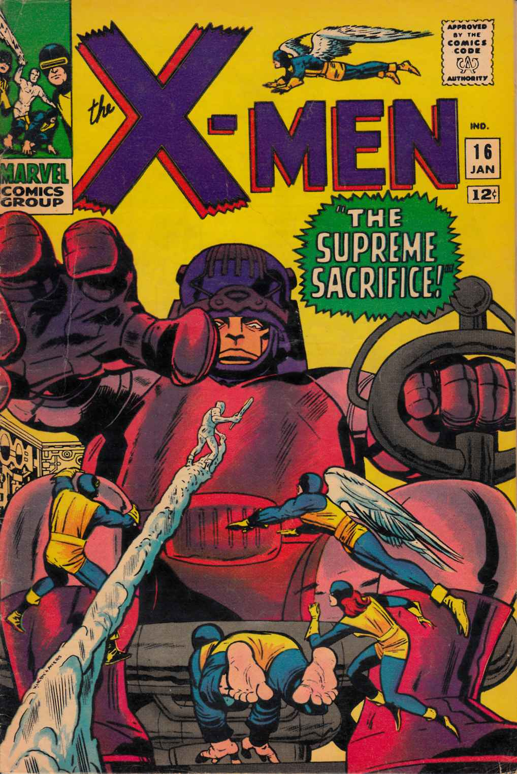 Uncanny X-Men #16 Very Good Plus (4.5) [Marvel Comic] THUMBNAIL